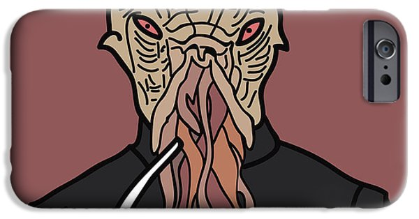 Dr. Who iPhone Cases - oOd iPhone Case by Jera Sky