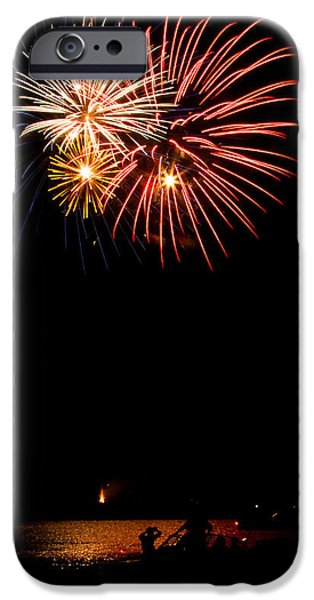 Fourth Of July iPhone Cases - Oooohs and Ahhhs iPhone Case by Chad Cooper