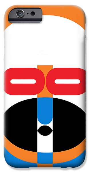 Op iPhone Cases - Pop Art People 1 iPhone Case by Edward Fielding