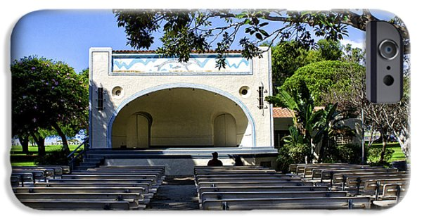 Open Air Theater iPhone Cases - Open Air Theater Pt Fermin iPhone Case by Joseph Hollingsworth