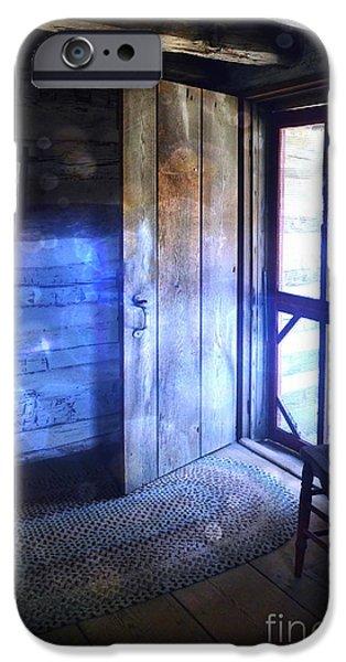 Open Cabin Door with Orbs iPhone Case by Jill Battaglia