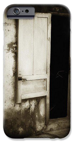 Open Door iPhone Case by Skip Nall