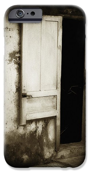 Open Door iPhone Case by Skip Nall
