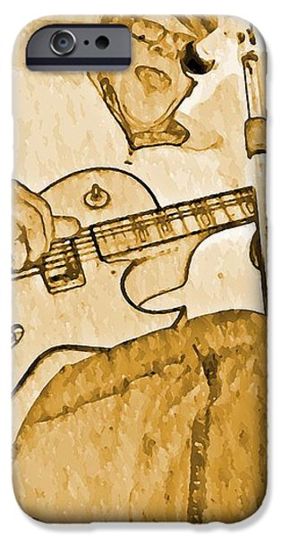 Open Jam iPhone Case by Chris Berry
