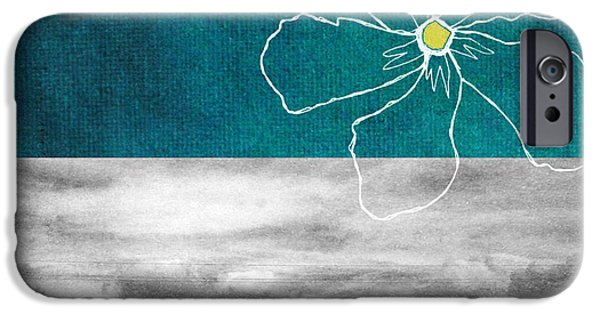 Urban Art iPhone Cases - Open Spaces iPhone Case by Linda Woods