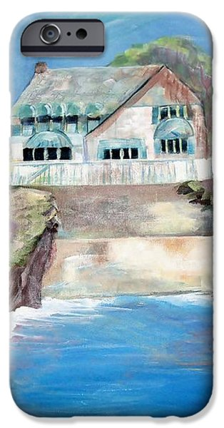 Opera by the Sea iPhone Case by Jan Moore