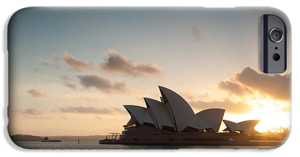 Summer iPhone Cases - Opera house - Sydney iPhone Case by Matteo Colombo