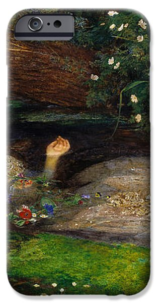 Ophelia  iPhone Case by John Everett Millais