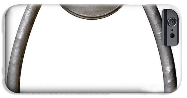Opening iPhone Cases - Opportunity Knocks Door Knocker iPhone Case by Allan Swart