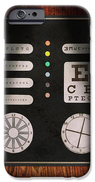 Gift For A iPhone Cases - Optometrist - Optical Confusion iPhone Case by Mike Savad