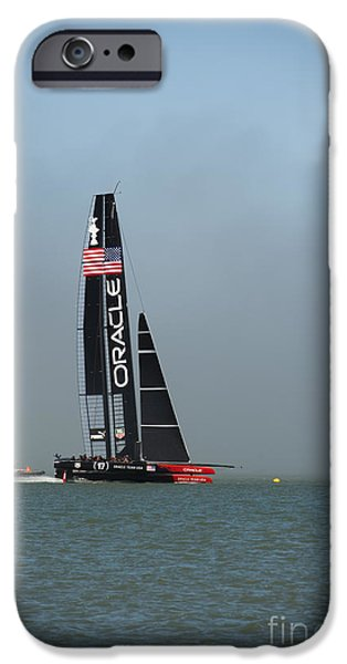 Oracle iPhone Cases - Oracle Team U S A iPhone Case by David Bearden
