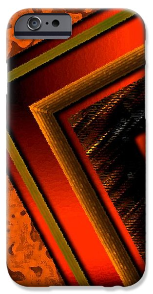 Orange and Brown  iPhone Case by Mario  Perez