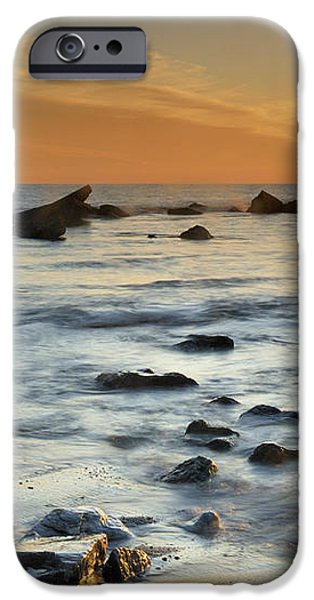 Orange at sunset iPhone Case by Guido Montanes Castillo