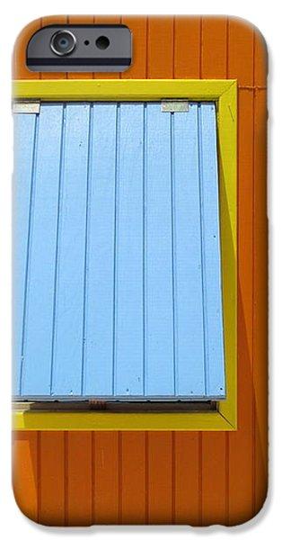 Orange Cabin iPhone Case by Randall Weidner