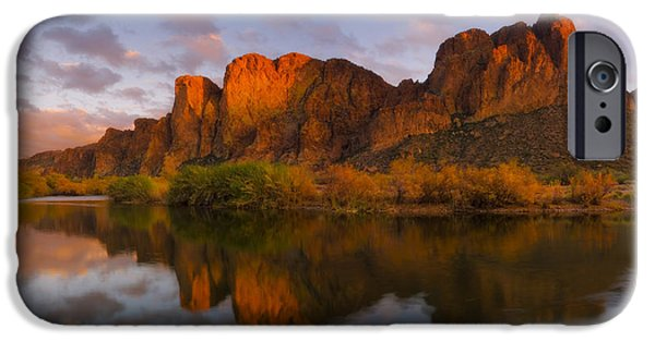 Peter Coskun iPhone Cases - Orange Kiss iPhone Case by Peter Coskun
