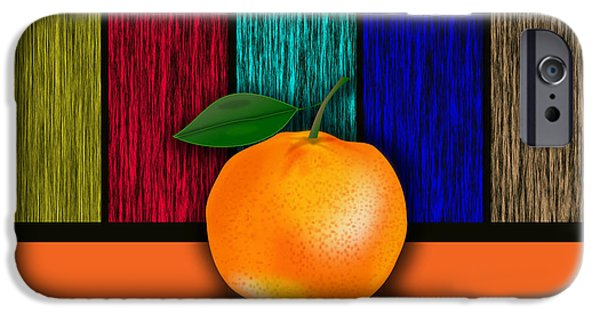 Orange iPhone Cases - Orange iPhone Case by Marvin Blaine