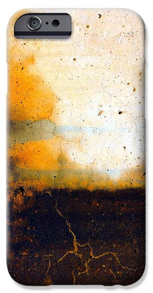 Cyberspace iPhone Cases - Orange Tree iPhone Case by Marcia Lee Jones