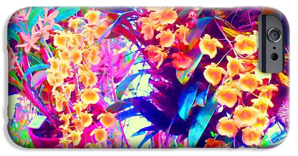 Ann Johndro-collins iPhone Cases - Orchid Splash iPhone Case by Ann Johndro-Collins