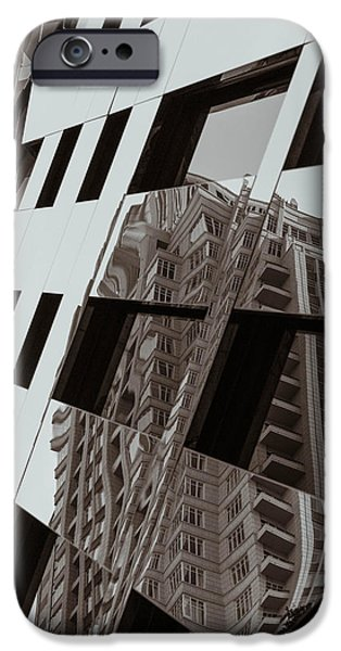 Disorder iPhone Cases - Order and Disorder iPhone Case by Alex Lapidus