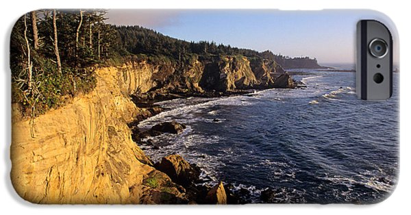 Local Attraction iPhone Cases - Oregon Coast iPhone Case by Jim Corwin
