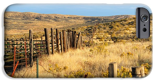 United iPhone Cases - Oregon Corral iPhone Case by Betty LaRue