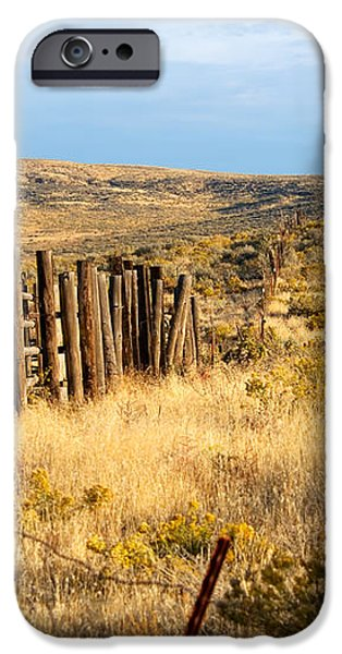 Oregon Corral iPhone Case by Betty LaRue
