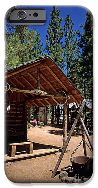 Local Attraction iPhone Cases - Oregon High Desert Museum iPhone Case by Jim Corwin
