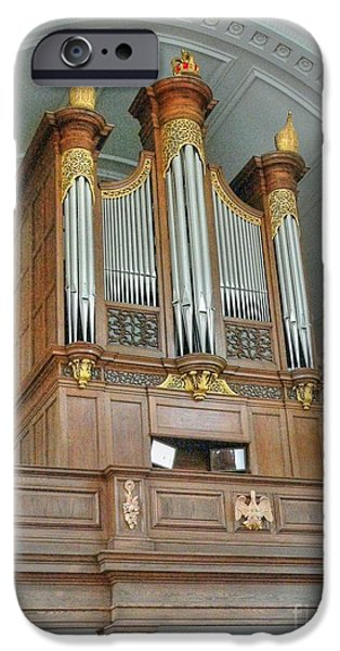 Organ at Westminster iPhone Case by David Bearden