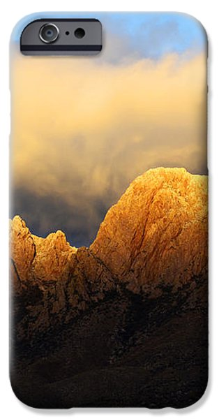 Organ Mountains Symphony Of Light iPhone Case by Bob Christopher