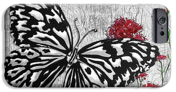 Hope And Change iPhone Cases - Original Inspirational Uplifting Butterfly Painting Celebrate Life iPhone Case by Megan Duncanson
