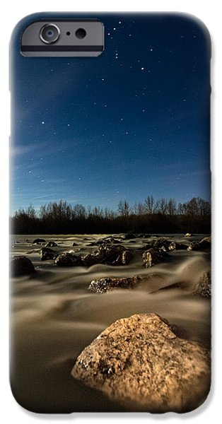 Moonscape iPhone Cases - Orion iPhone Case by Davorin Mance