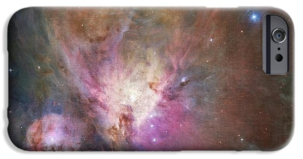 The Hatchery iPhone Cases - Space Hollywood 2 - Orion Nebula iPhone Case by Marianna Mills