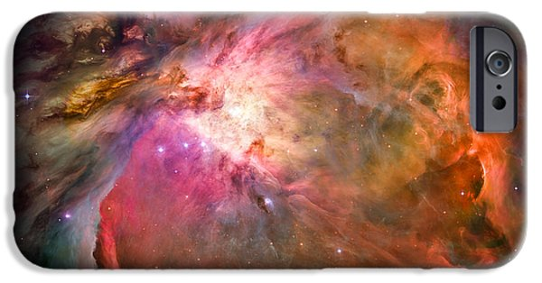 Stellar iPhone Cases - Orion Nebula iPhone Case by Marco Oliveira