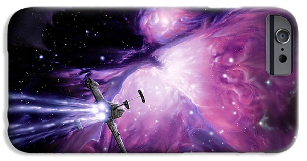 Constellations iPhone Cases - Orion Nebula iPhone Case by Shigemi Numazawa / Atlas Photo Bank