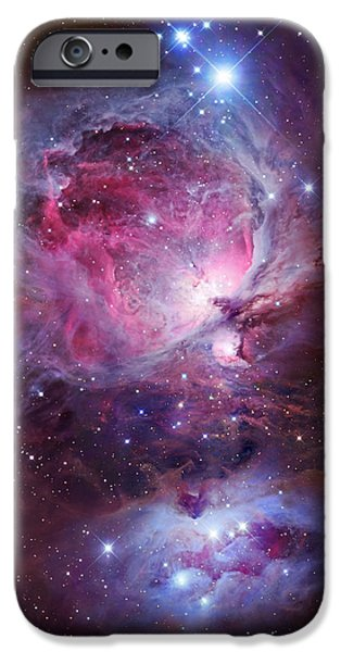 Galactic Paintings iPhone Cases - Orion Sword iPhone Case by Celestial Images