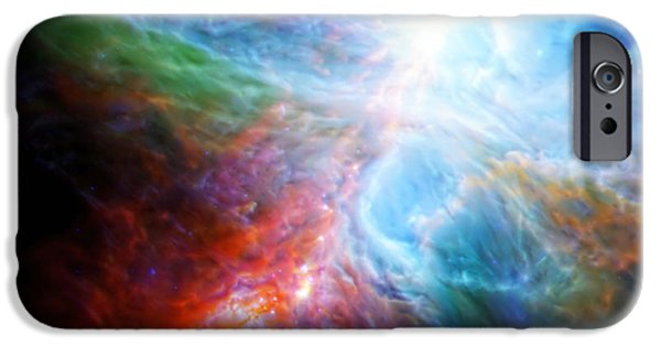 Recently Sold -  - Constellations iPhone Cases - Orions Rainbow 3 iPhone Case by The  Vault - Jennifer Rondinelli Reilly