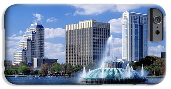 Finance iPhone Cases - Orlando, Florida, Usa iPhone Case by Panoramic Images