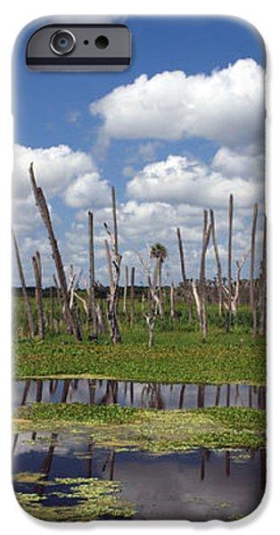 Orlando Wetlands Cloudscape iPhone Case by Mike Reid