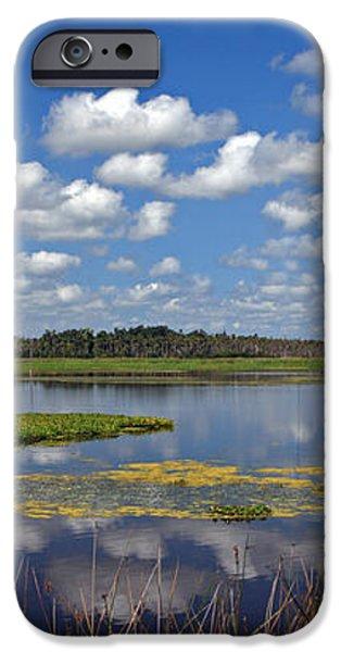 Orlando Wetlands Park Cloudscape 4 iPhone Case by Mike Reid