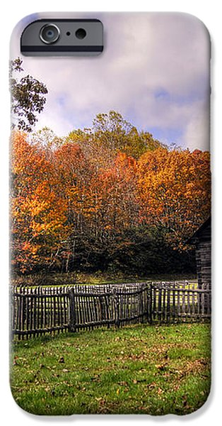Orlean Puckett's Cabin iPhone Case by Benanne Stiens