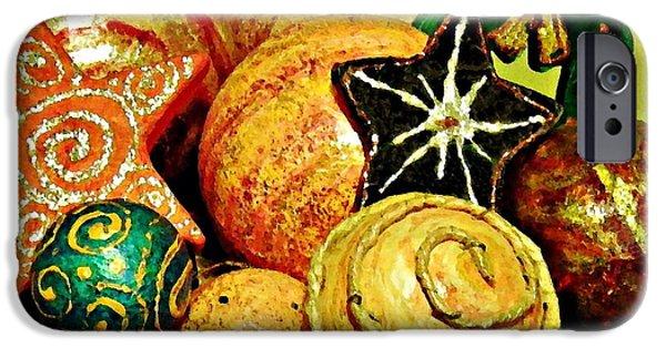 Sarah Loft iPhone Cases - Ornaments iPhone Case by Sarah Loft