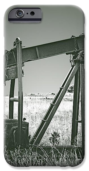 Orphans of the Texas Oil Fields iPhone Case by Christine Till