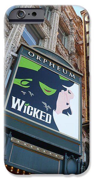 Orpheum Sign iPhone Case by Carol Groenen