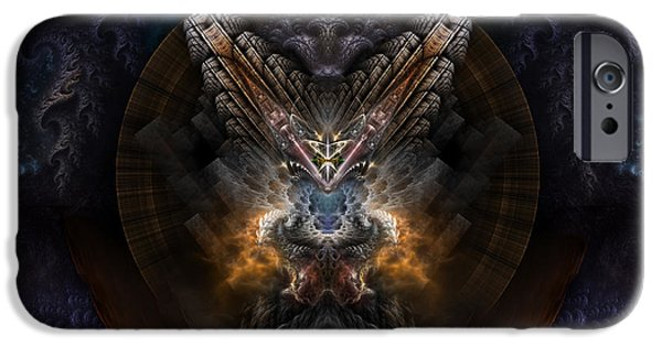 Epic iPhone Cases - Orthricon iPhone Case by Rolando Burbon