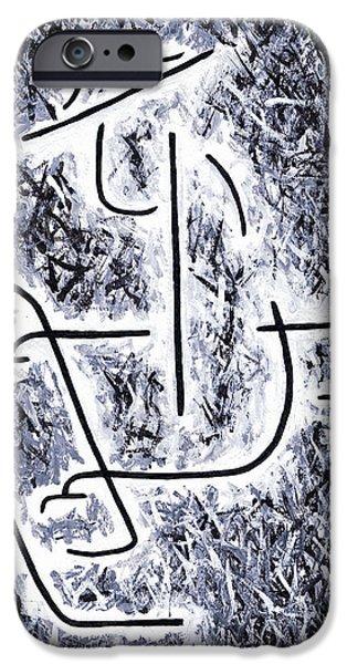 Keyboard Paintings iPhone Cases - Oscar Peterson iPhone Case by Kamil Swiatek