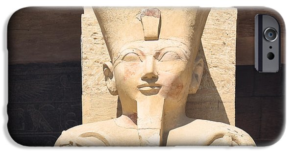 Hathor iPhone Cases - Osiris.. iPhone Case by A Rey