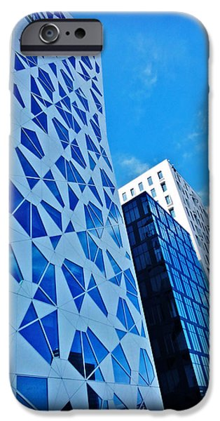 Oslo iPhone Cases - Oslo Architecture No. 2 iPhone Case by Mary Machare