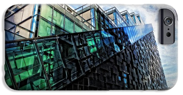 Oslo iPhone Cases - Oslo Architecture No. 4 iPhone Case by Mary Machare