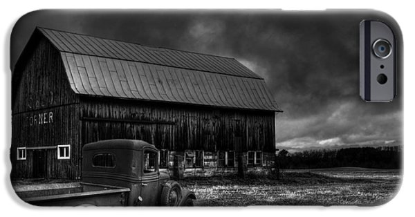 Oslo iPhone Cases - Oslo Corners Farm iPhone Case by Thomas Young