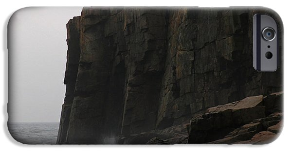 Seacoast iPhone Cases - Otter Cliff iPhone Case by Juergen Roth